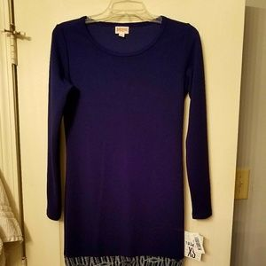 NWT LuLaRoe Debbie from the elegance collection XS